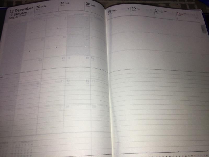 2017年はこの手帳でいこう!〜ブログネタ帳編〜